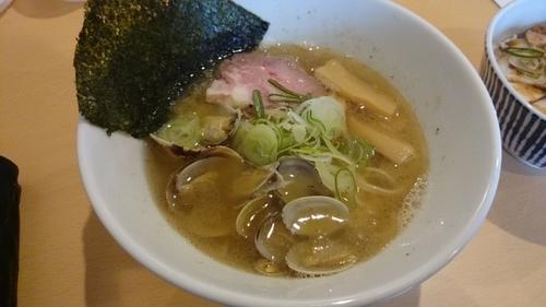 「あさりラーメン」@麺屋 湊の写真