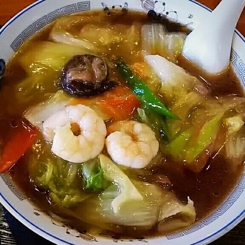「広東麺 730円」@牡丹江飯店の写真