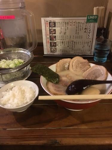 「チャーシュー麺」@一笑ラーメンの写真