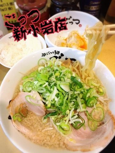 「しょうゆらーめん¥750」@超ごってり麺 ごっつ 新小岩店の写真