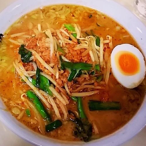 「坦々麺 700円」@大龍の写真