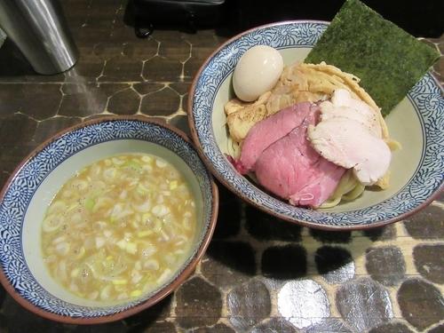 「龍介つけそば(820円)+特級トッピング」@特級鶏蕎麦 龍介の写真