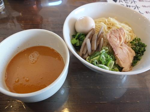 「鶏白湯の味玉つけ麺」@なかじゅう亭 高崎上豊岡店の写真
