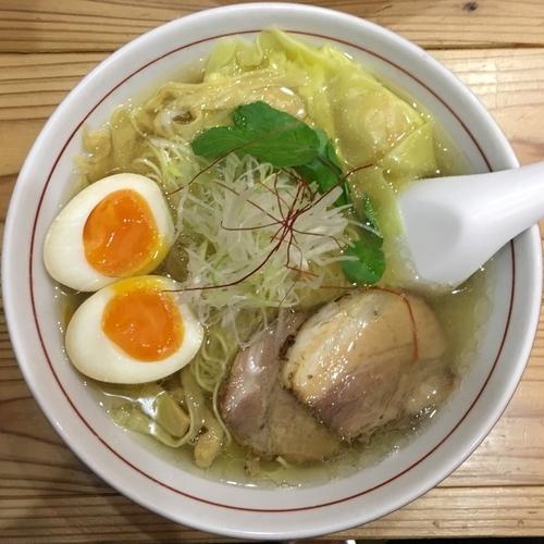 「くろおびラーメン 塩味 (1,000円)」@利尻昆布ラーメン くろおびの写真