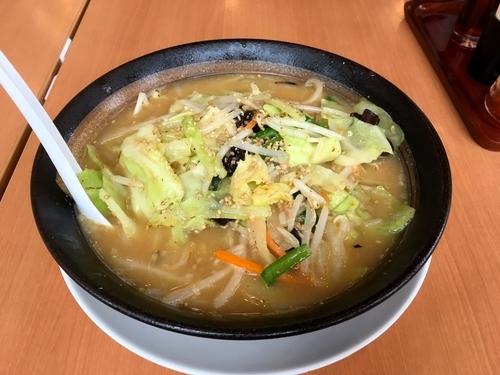 「味噌野菜らーめん」@幸楽苑 田無店の写真