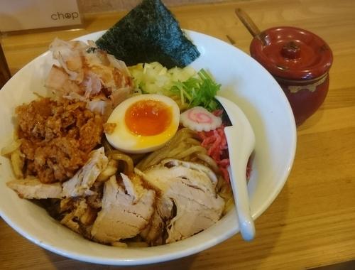 「まぜそば 中」@らー麺Chopの写真
