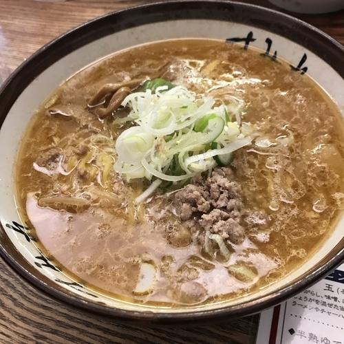 「味噌ラーメン 870円」@すみれ 札幌中の島本店の写真