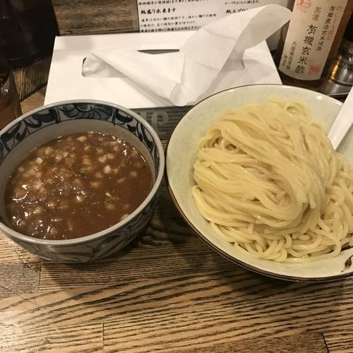 「濃厚鶏つけ麺 850円」@新橋 纏の写真