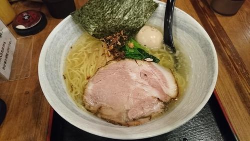 「味玉らーめん(塩)・・820円」@麺屋 匠堂の写真