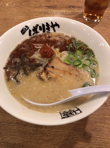 「ばりこてめん」@八番山博多ラーメンばりきや 高崎店の写真