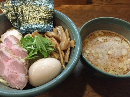 「特製海老つけ麺:1120円」@麺処 三鈷峰の写真