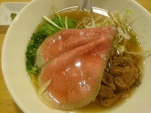 「特製牛骨麺 ¥1000」@麺屋 西川の写真