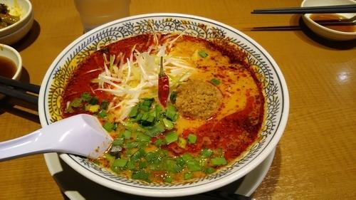 「麻ラー担々麺」@丸源ラーメン 川口芝店の写真