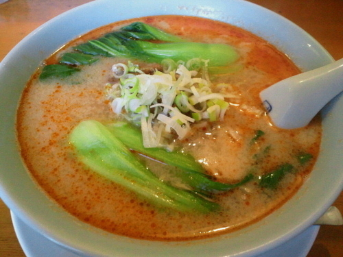 「坦担麺 800円」@中華飯店 康楽の写真