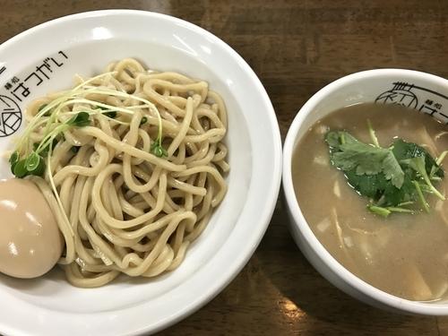 「塩つけ麺800円+ラーパス味玉0円」@麺処 はつがいの写真