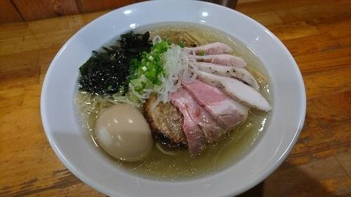 「特製芳醇塩そば 1,000円」@麺屋 むじゃきの写真