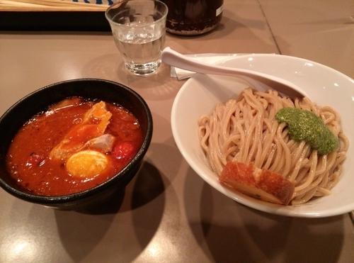 「海老トマトつけ麺  全部入り」@つけ麺 五ノ神製作所の写真