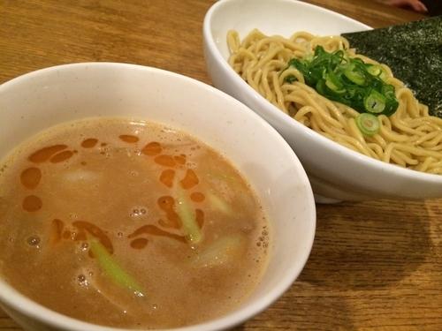 「海老味噌つけ麺」@ぶしもりや めんめんの写真