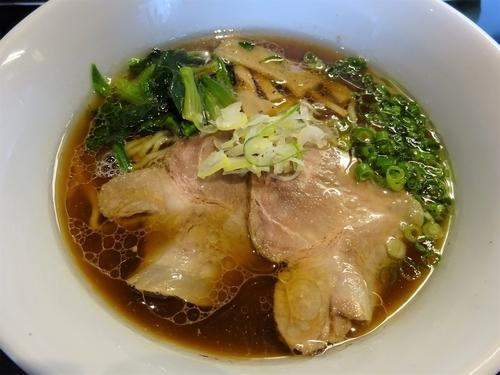 「生姜醤油麺  720円」@金蠍の写真
