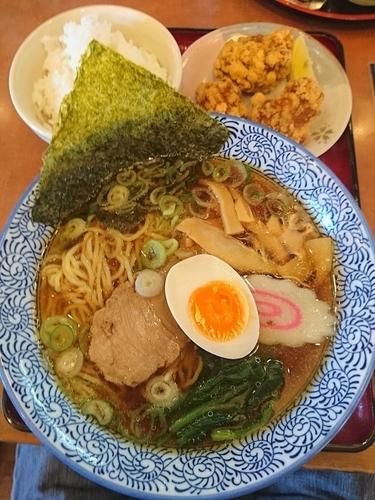「中華そば Cセット 900円」@唐麺や十兵衛 花園店の写真
