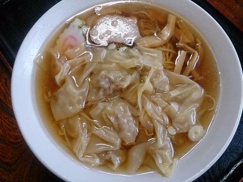 「ワンタンメン」@さくら食堂の写真
