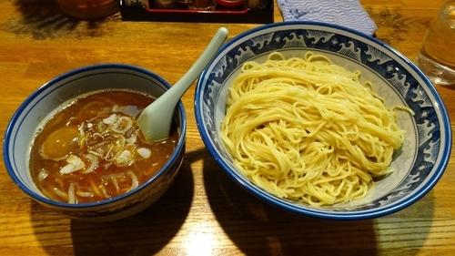 「鰹醤油つけ麺(750円)+特盛(100円)+味付玉子」@麺や 樽座 小宮店の写真