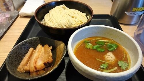 「あっさり淡麗煮干しつけ麺(裏メニュー)」@煮干し中華そば 一燈の写真