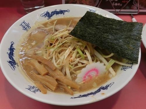「濃厚とんこつ魚介ラーメン+ねぎ」@南紀マルショウの写真