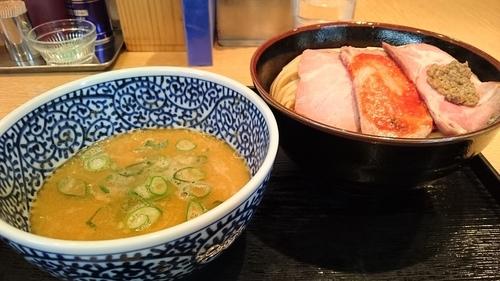 「【3月限定】鶏ベジポタつけ麺(中) ¥ 850」@麺屋 一燈の写真