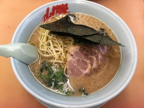 「醤油ネギチャーシュー」@ラーメン山岡家 厚木店の写真