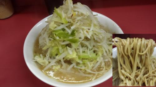 「小ラーメン(そのまま)700円」@ラーメン二郎 ひばりヶ丘駅前店の写真
