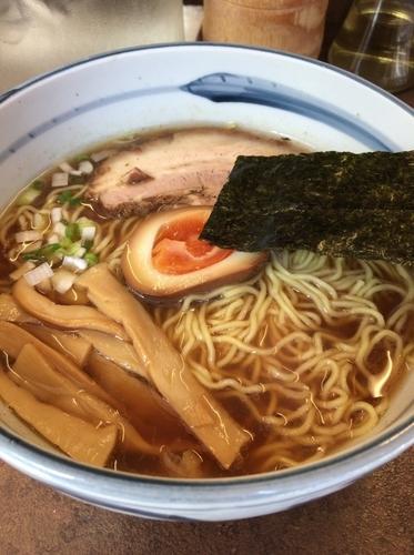 「らーめん 650円 魚だし50円」@ぼにしもの写真