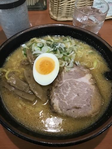 「味噌ラーメン」@ラーメン専門三代目 月見軒 札幌駅北口店の写真