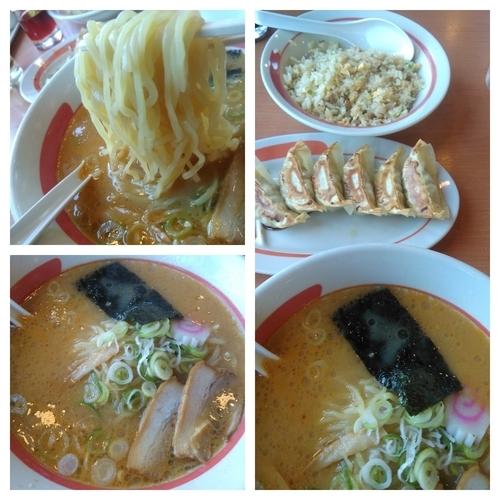 「味噌ラーメン+チャーハン餃子セット」@幸楽苑 東浦和店の写真