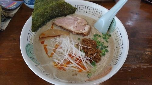 「担担麺(グレー) 809円」@火門拉麺の写真