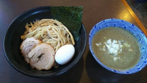 「極上団地妻パイパンつけ麺(濃厚煮干し) 特製」@つけ麺 弥七の写真