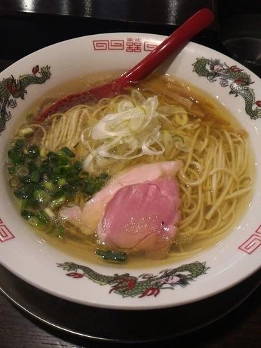 「塩そば(牡蠣油)¥750」@立ち呑み居酒屋 金町製麺の写真