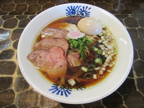 「限定 地鶏そば(800円)+窯焼きチャー+味玉+替玉」@特級鶏蕎麦 龍介の写真