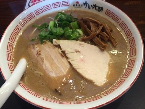 「味噌豚骨」@豚骨商店 ゆい六助 上田店の写真