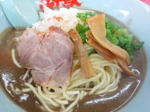 「鬼煮干しラーメン850円」@山岡家 東松山店の写真