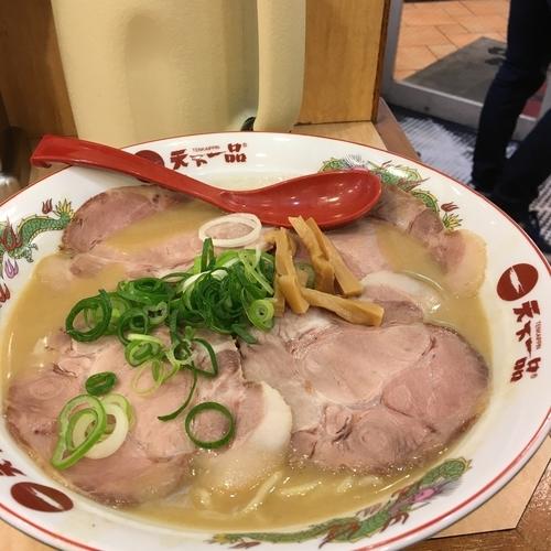 「焼豚麺特盛」@天下一品 水道橋店の写真