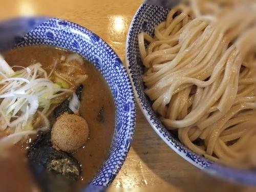 「魚介とんこつつけ麺」@麺屋我龍の写真