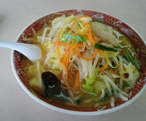 「タンメン 780円」@あぢとみ食堂の写真