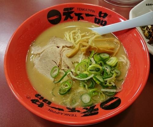 「回鍋肉定食(こってり) 1090円」@天下一品 神楽坂店の写真