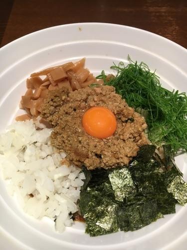 「カレー台湾まぜ麺¥800」@ダイキ麺の写真
