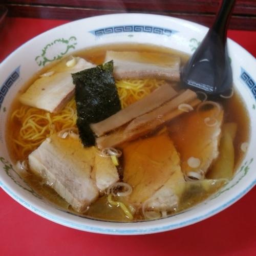 「チャーシューワンタン麺」@伊峡の写真