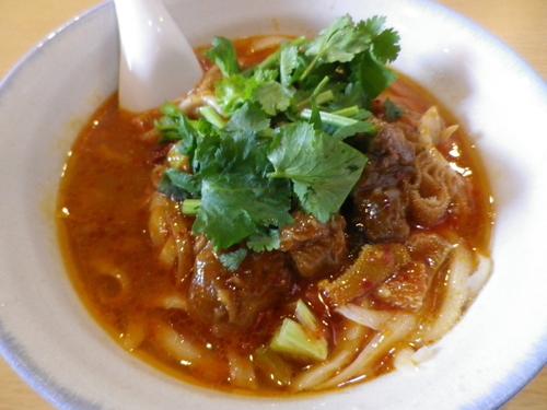 「牛雑麺」@杜記 海鮮火鍋菜館の写真