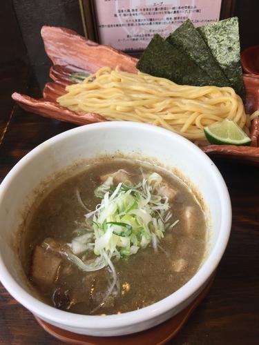 「濃厚つけ麺」@めん処 渚の写真