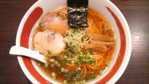 「中華そば醤油750円」@麺処 まるは BEYONDの写真