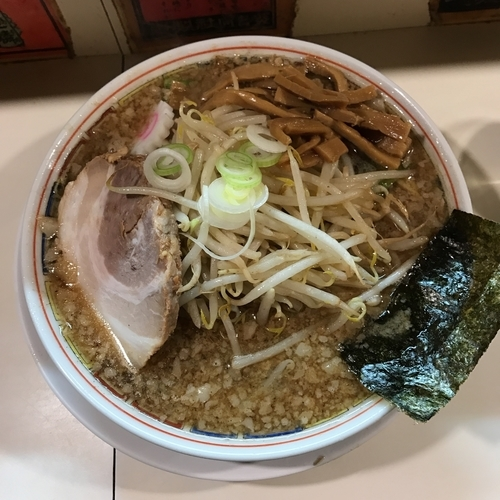 「ヒマワリラーメン」@ラーメン ヒマワリ 東十条本店の写真